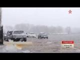 Из-за оттепели затоплен микрорайон в Барнауле