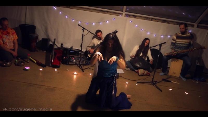 Йога-танец, импровизация на тему Воды с AtmanLove