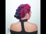 Лайфхакерша. 7 крутых причесок для ярких волос