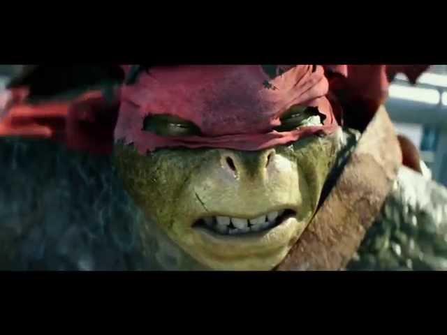 TMNT (2014) Clip: Ninja Turtles vs Shredder part 2 (HD).