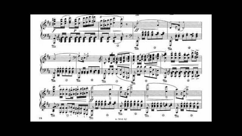 F. Chopin : Polonaise op. 40 no. 1 in A major Military (Pollini)