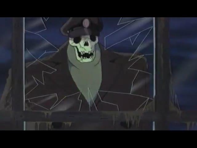 Мультики аниме для взрослых и детей Летающий корабль Призрак Полнометражные мультфильмы