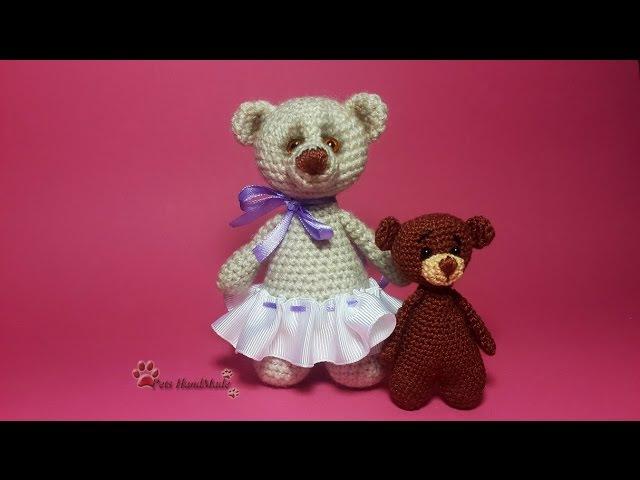 Амигуруми. МК для начинающих: медвежонок.
