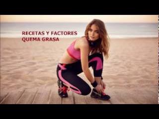 RECETAS Y FACTORES QUEMA GRASA/Pedro Aguero