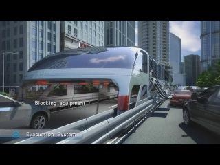 Future Technology of Transportation / China Straddling Bus HD