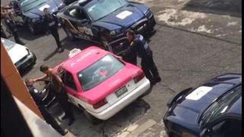 Policia SSP detiene conductor y atrapa ladrón