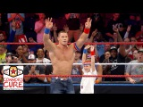 John Cena brings a brave WWE Universe member into the ring after Raw: July 4, 2016