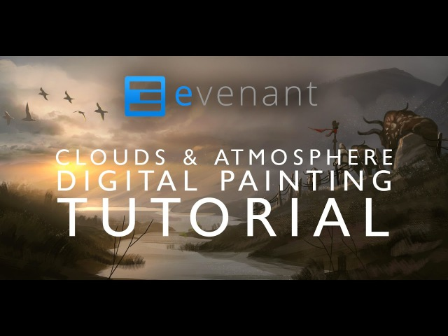 Clouds Atmosphere Painting Tutorial Digital Painting Basics Concept Art