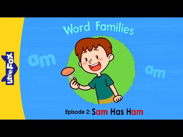 Word Families 2 Sam Has Ham | Level 1 | By Little Fox