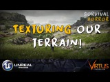 Painting Our Terrain! - #22 Creating A Survival Horror (Unreal Engine 4)