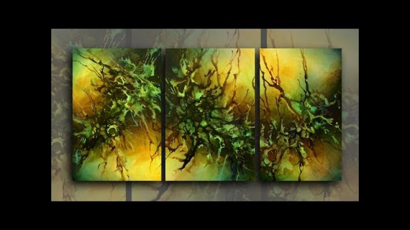 ART GALLERY paintings latest short vidio of recent Mix Lang contemporary modern art