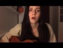 С.Есенин - Заметался пожар голубой. Девушка очень красиво поет и играет. лучший кавер, cover, под гитару, на гитаре.