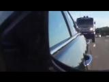Дакаровский КАМАЗ на трассе! Это надо видеть