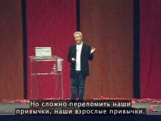 Tim brown: tales of creativity and play (русские субтитры)