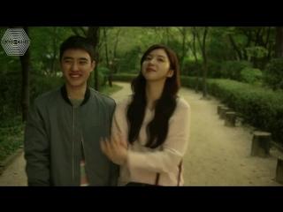 [РУСС. САБ] 161104 EXO DO Kyungsoo @ Be Positive 6 серия