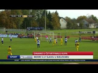 Bjelovar - Dinamo 1-2, izvjesce (HR kup), 25.10.2016. HD