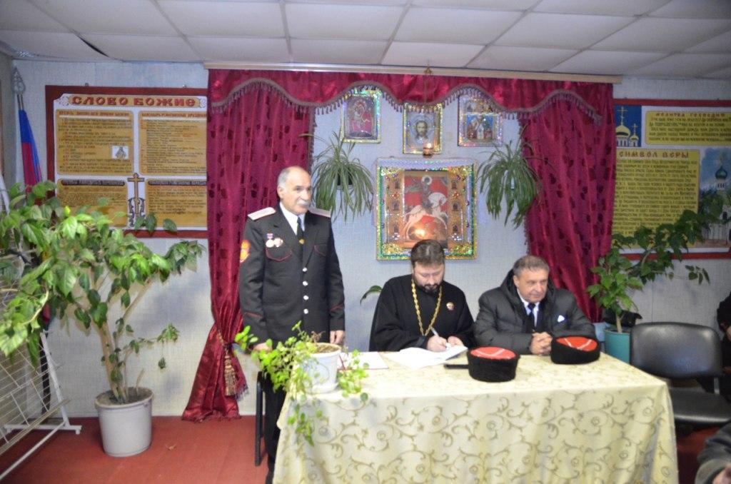 Атаман Зеленчукского станичного общества отчитался о проделанной за год работе
