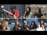 160308 Brave Girls @ SBS Radio Old School (용감한 형제 자상하다 세뱃돈도 주시고…)