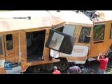 Два поезда лоб в лоб столкнулись в Коста-Рике, около 250 пострадавших