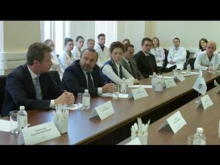 стреча Министра Здравоохранения РФ с молодыми учеными BIOCAD