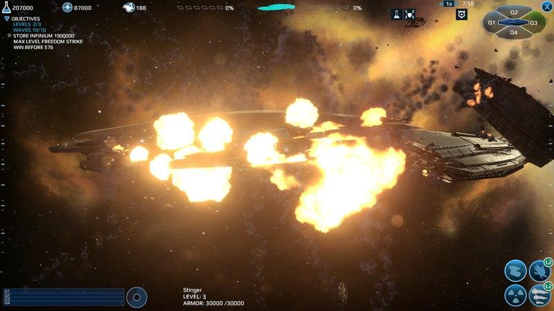 Infinium Strike (2016) PC - Скриншот 3