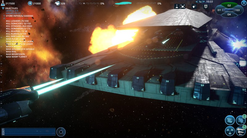 Infinium Strike (2016) PC - Скриншот 2