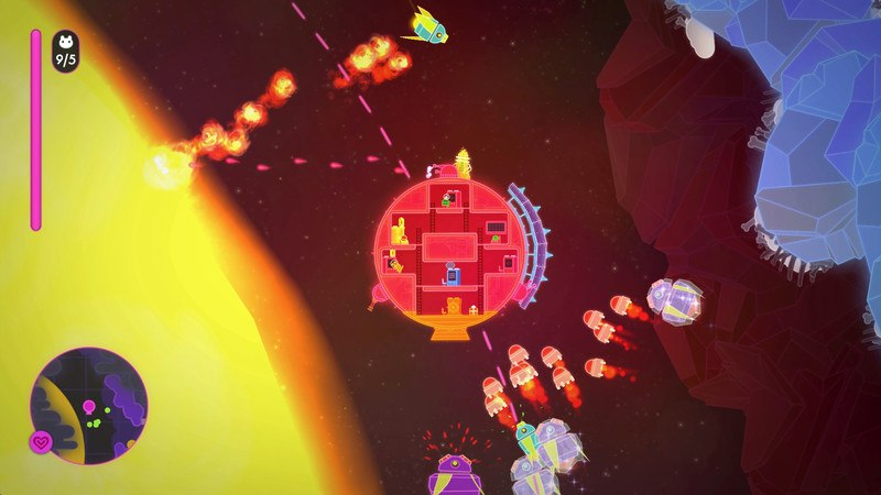 Lovers in a Dangerous Spacetime (2015) PC - Скриншот 3