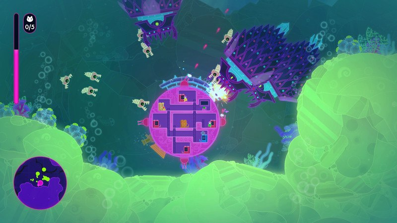 Lovers in a Dangerous Spacetime (2015) PC - Скриншот 2