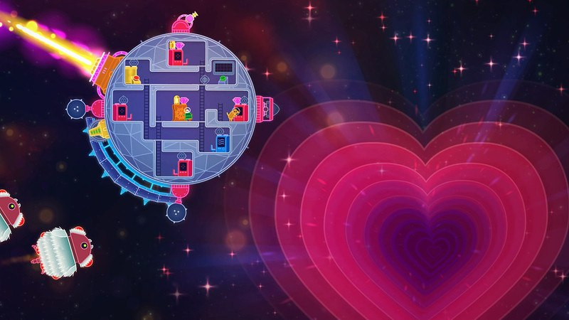 Lovers in a Dangerous Spacetime (2015) PC - Скриншот 1