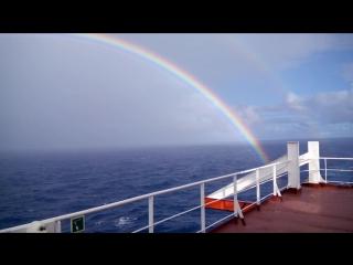 Радуга в Тихом океане