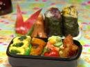 How to Make Bento Lunch Box お弁当の作り方, как готовить БЭНТО (бенто) видео-урок