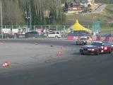 Дрифт Логойск 2012 ЗАЗ 1102 и Nissan 200sx