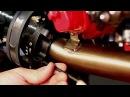 Kawasaki Ninja full Two Brothers Racing Exhaust install with Tony Carbajal