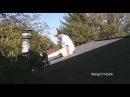 CRAZY NINJA meditation skill - Kadour on rooftop