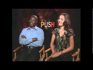 Djimon Hounsou & Camilla Belle talk Push - JoBlo.com
