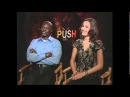 Djimon Hounsou Camilla Belle talk Push -
