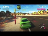 Forza Horizon: RUF RGT-8 против самолета - Геймплей