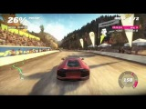 Forza Horizon - Lamborghini Avendator против самолета Геймплей