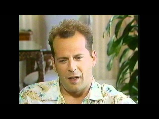 1988 - Entertainment Tonight - Bruce Willis Interview - Moonlighting, Die Hard, Demi Moore, Rumer