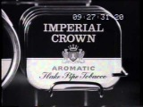 Wills Imperial Crown tobacco 1964 TV commercial