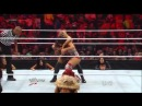 WWE Raw 4/23/12 - Nikki Bella vs Beth Phoenix (Divas Championship) Lumberjill Match