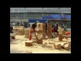 резьба бензопилой скульптура медведя