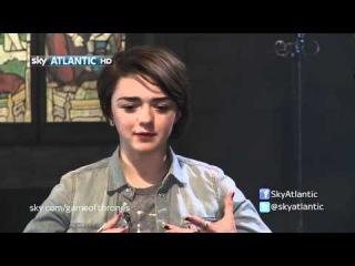 Thronecast interviews Maisie Williams