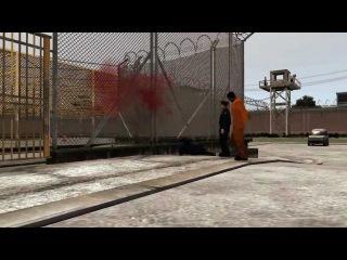GTA IV Prison Break: Action Scene [HD]