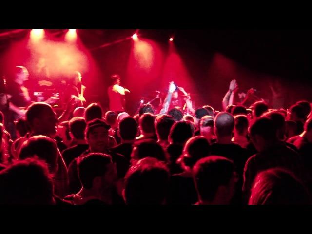 Propagandhi - Hard Times - live @ NYC 2012 with John Joseph McGowan from Cro-Mags