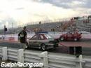 9 sec Turbo Mitsubishi Mirage Vs SOHC Turbo Civic - CSCS June 22 grand bend