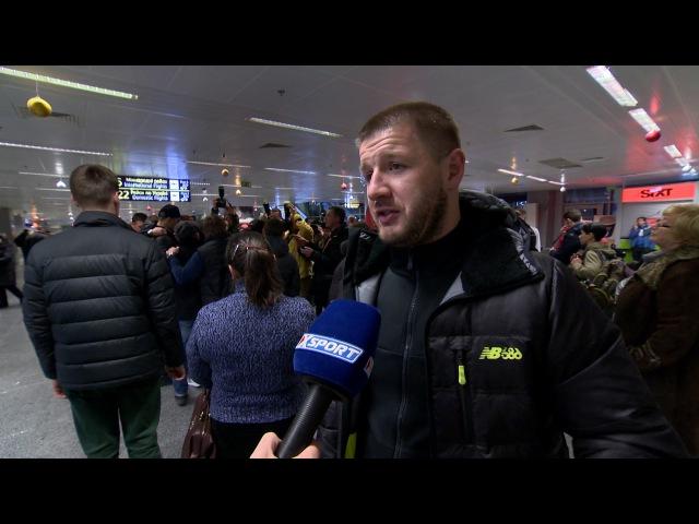 Сергей Ватаманюк, тренер Александра Усика. О защите титула против Табисо Мчуну.