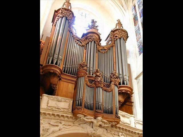 Couperin, Offertoire sur le grands jeux, Messe de Paroisse - André Isoir