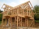 Как построить каркасный дом своими руками. Технология строительства каркасных ...