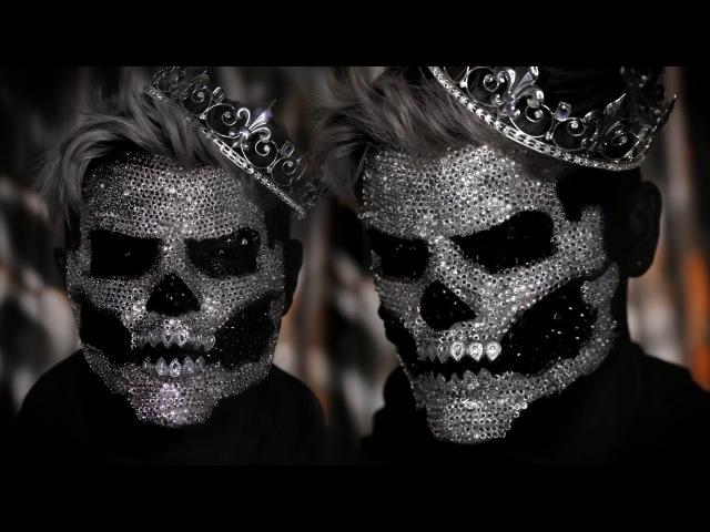 Diamond Skull King SFX Halloween Makeup Tutorial